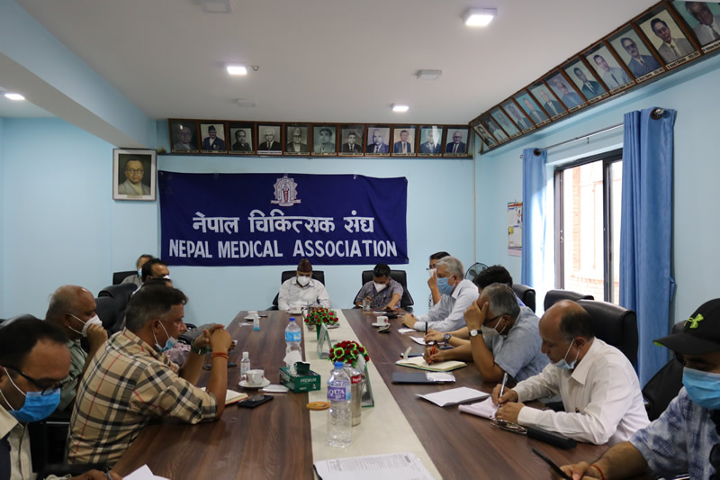Meeting with Health Stockholders Regarding COVID -19 Pandemic