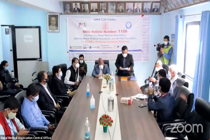 Call Center started to Help COVID-19 Patients