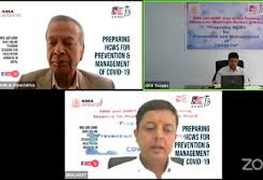 COVID-19 Awareness Program to the doctors