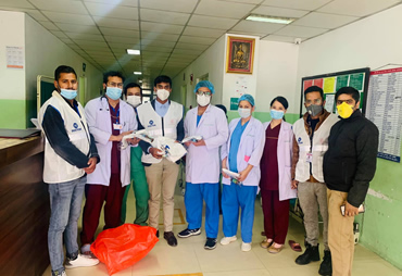 Mask & PPE distribution to Medical Workers