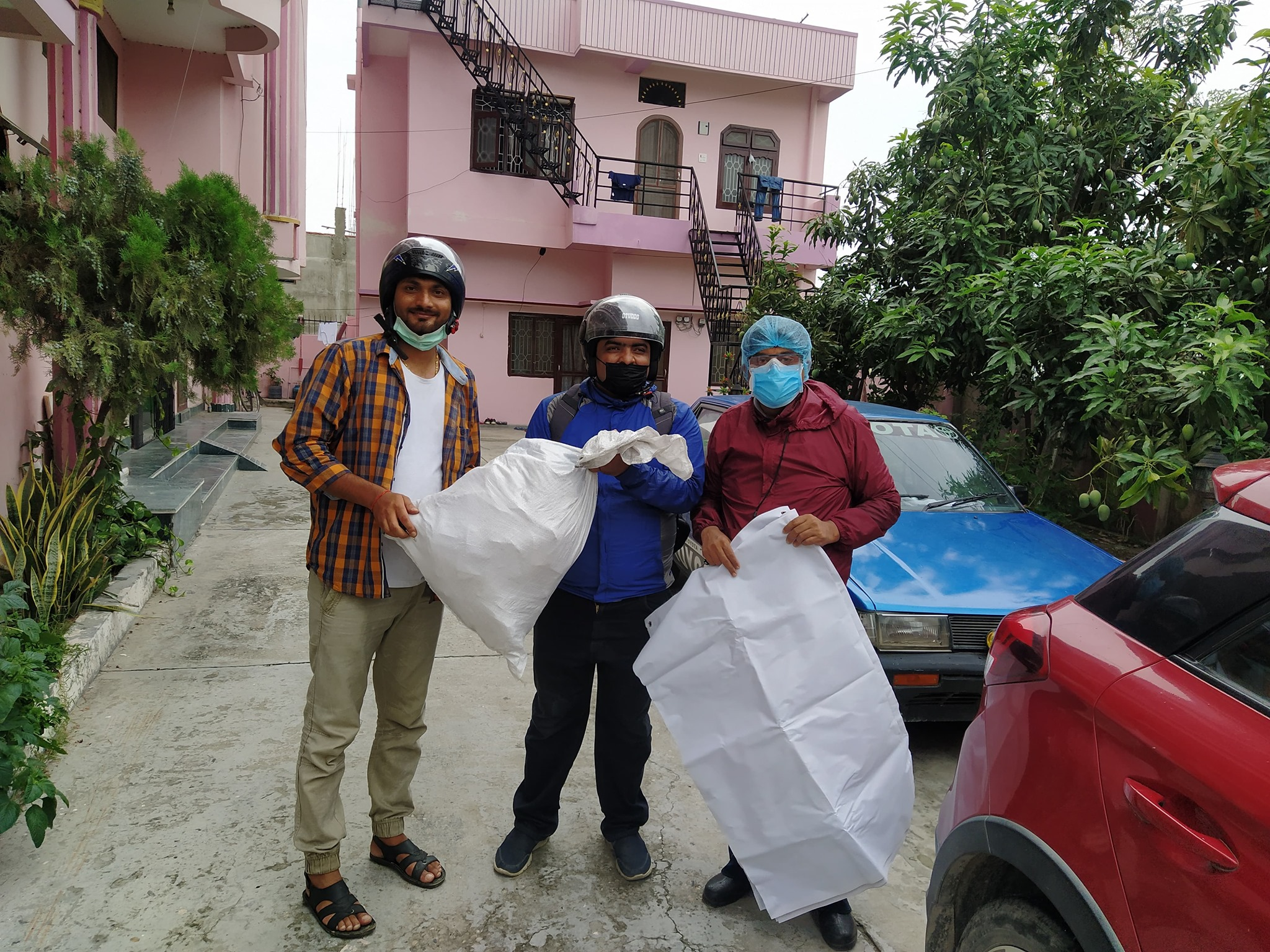 Personal Protective Kit Distribution in different Branch (COVID-19)